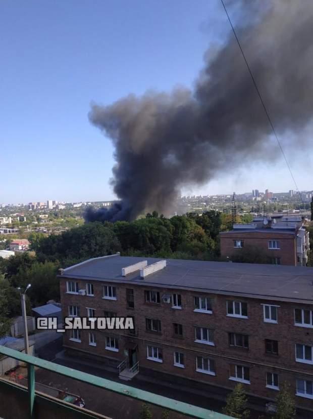 Харків пожежа склади фото