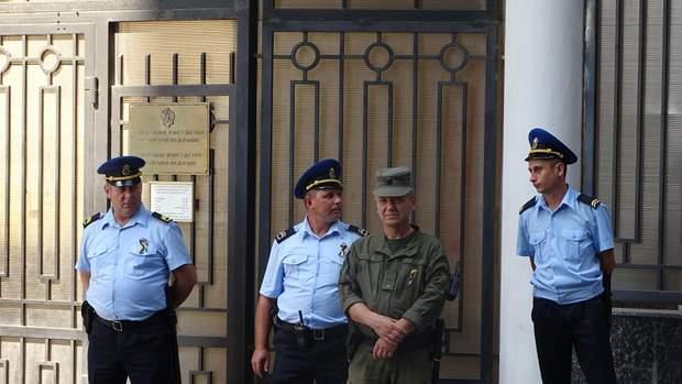 Пікет під консульством РФ у Одесі