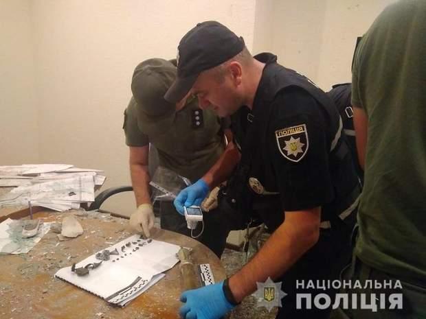 поліція зброя гранатомет