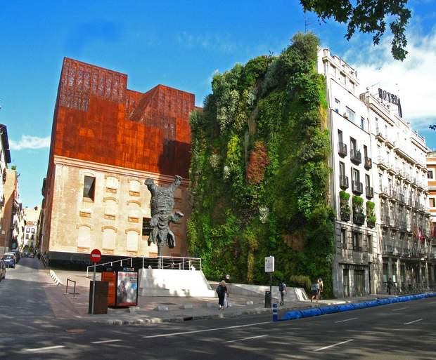 Мадрид екологія вертикальні сади