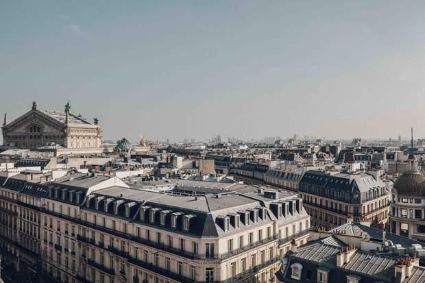 Париж будинки дахи