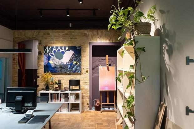 офіс дизайн студія Київ картини мистецтво