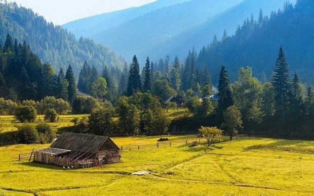 Українські Карпати, гори