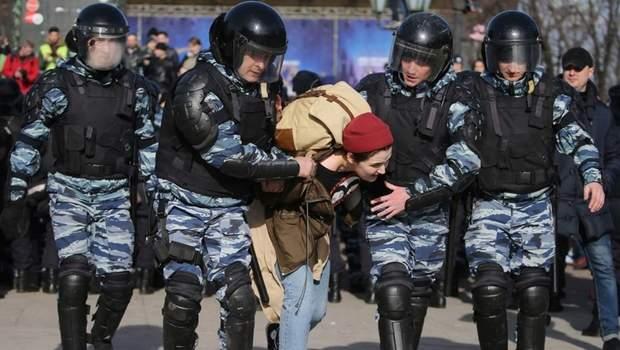росія протести в москві