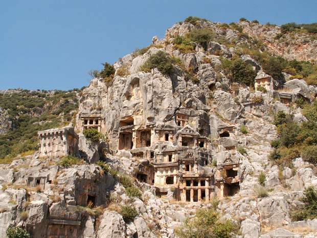Лікійські поховання у Туреччині