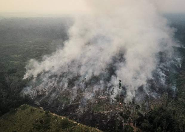 пожежа в Бразилії