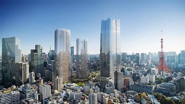 Токіо хмарочоси Японія