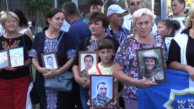 Акція протесту під посольством Росії в Києві