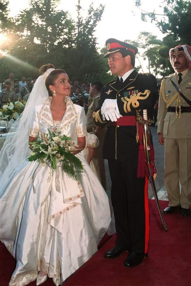 Весілля короля Абдалли ІІ та Ранії