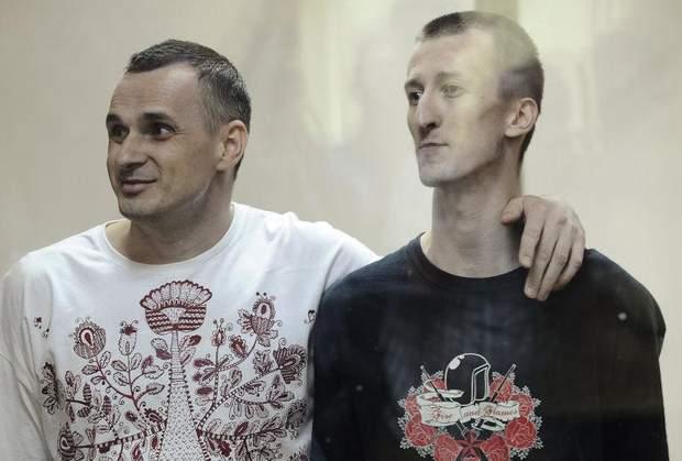 Олег Сенцов, Олександра Кольченко, обмін полоненими, бранці Кремля