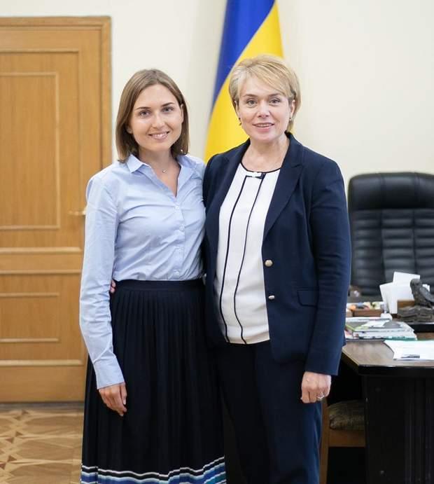 Ганна Новосал та Лілія Гриневич