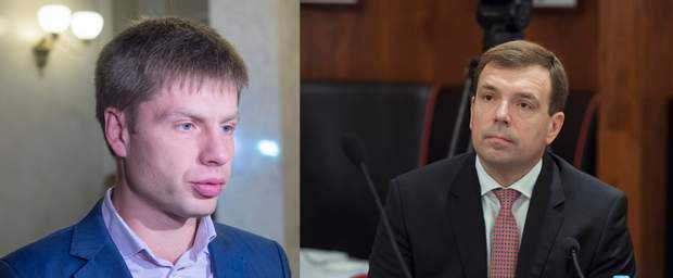 Олексій Гончаренко та Микола Скорик