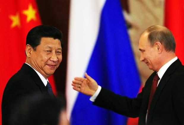 росія і китай
