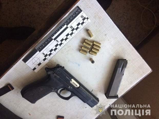 зброя пістолет набої кримінал Миколаїв поліція