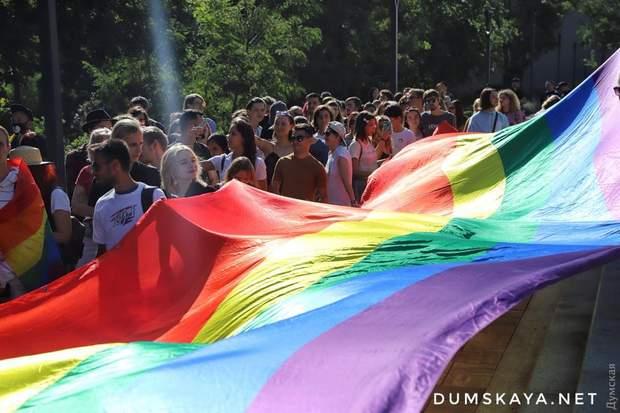 Марш рівності Одеса фото ЛГБТ