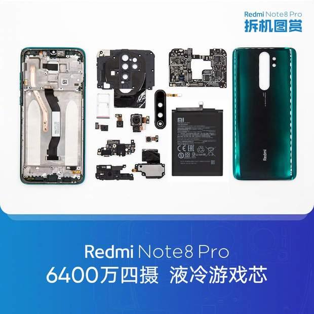 Розбір новинки Redmi Note 8