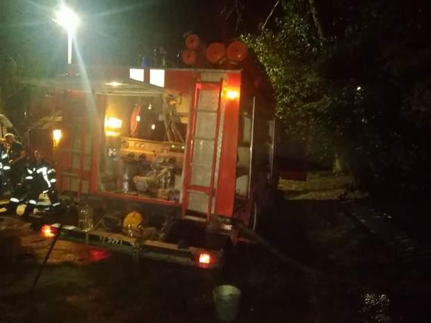 Пожежа у багатоповерхівці в Херсоні