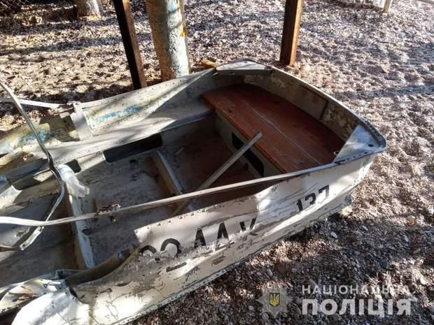 поліція яхта одеса човен