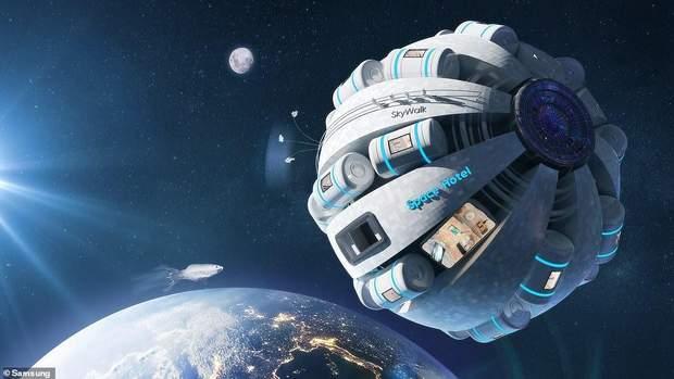космічні готелі