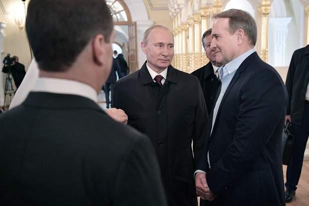 Медведчук Путін