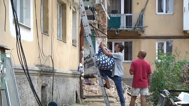 Обвал будинку в Дрогобичі