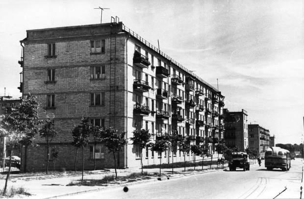 хрущовки СРСР історичне фото
