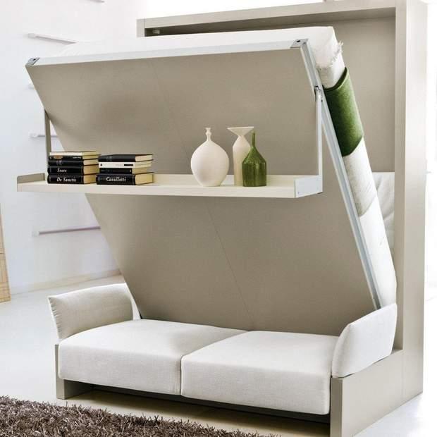 ліжко шафа дизайн