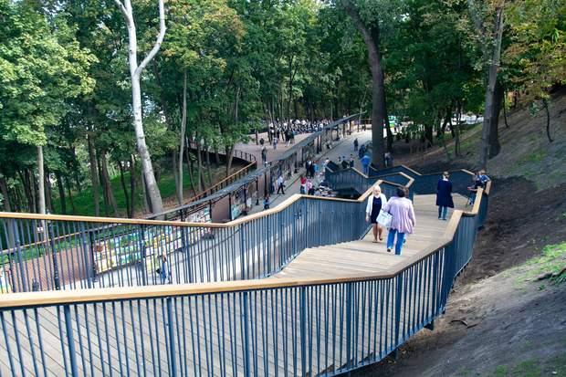 Сходи від Андріївської церкви до Володимирської гірки