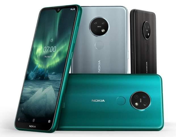 Nokia 6.2 і Nokia 7.2