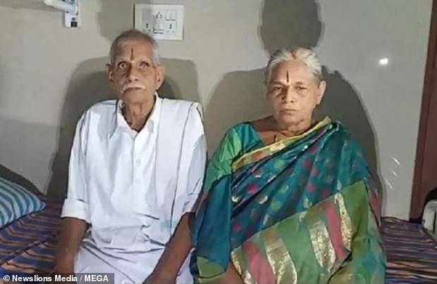 Ерраматті з чоловіком Раджа Рао