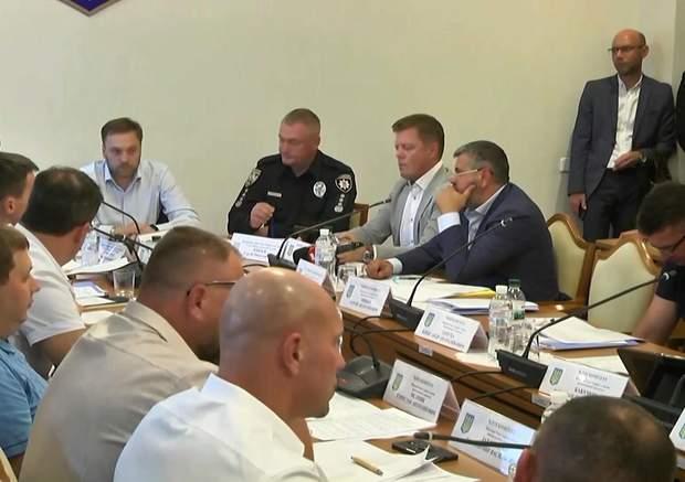 Засідання комітету Ради