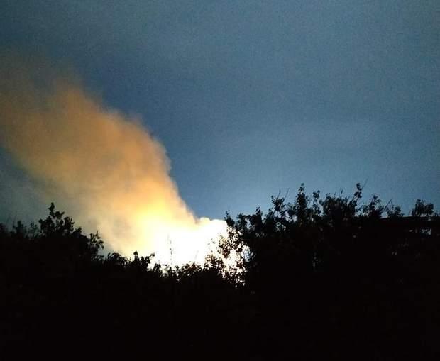 Пожежа Приморськ