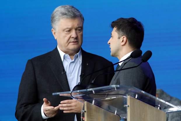 дебати порошенко зеленський