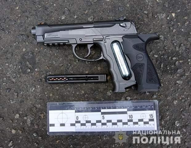 поліція київ стрілянина зброя