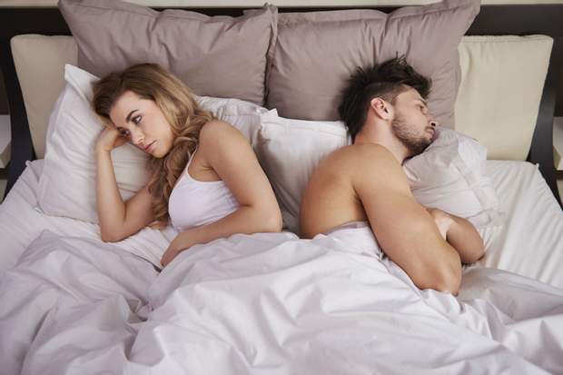 Через сексуальну тривогу секс не буде приносити великого задоволення