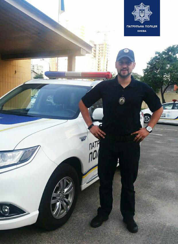 київ самогубство поліцейський врятував життя коп патрульні