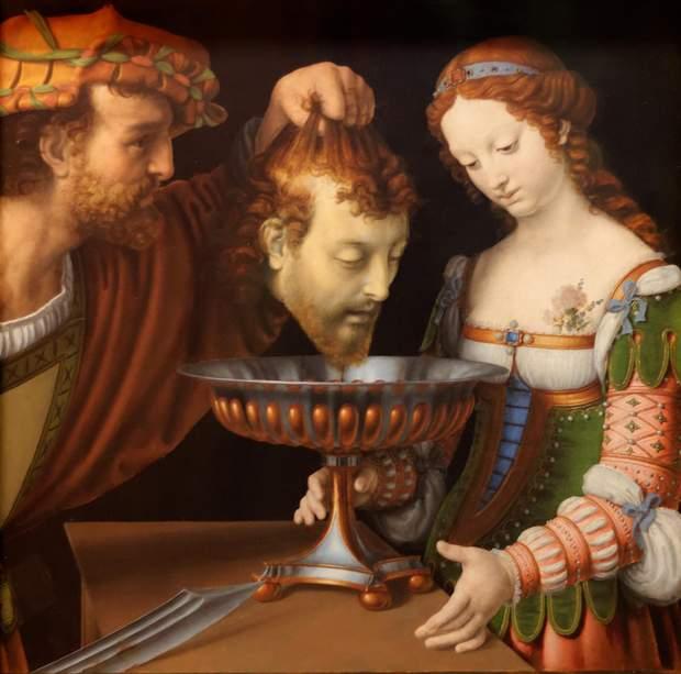 Саломія отримує голову Івана Хрестителя