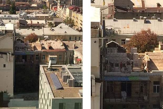 Добудова на вулиці Леонтовича
