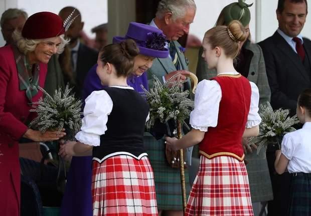 Королівська сім'я у Шотландії