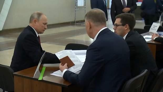 путін вибори в росії