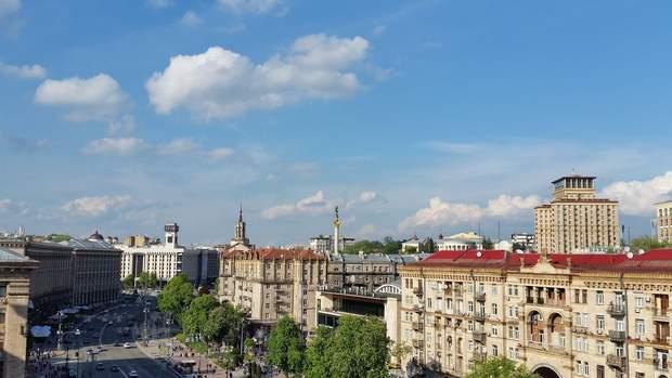 Хрещатик Київ торгові площі