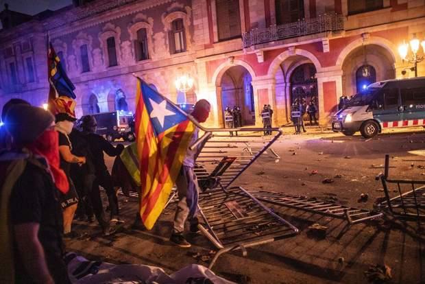 Барселона Каталонія мітинг Іспанія