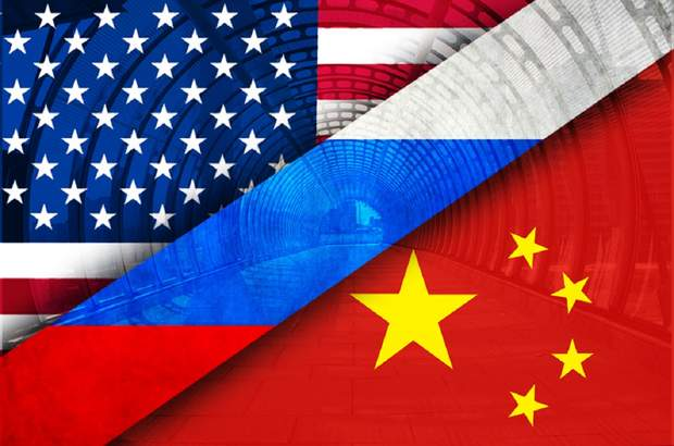 китай, США , росія