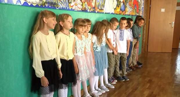 Близнюяки та двійнята у школі на Львівщині