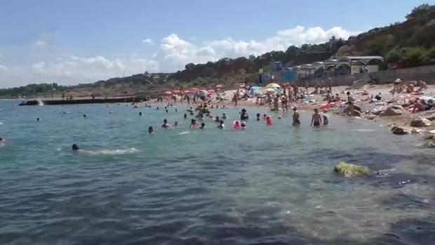 пляж крим росі міноборони