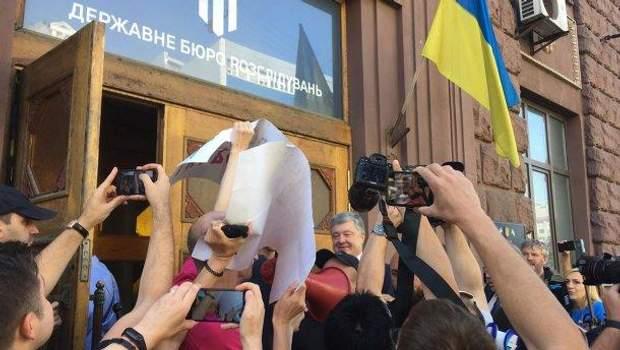 ДБР,допит Порошенка, Петро Порошенко