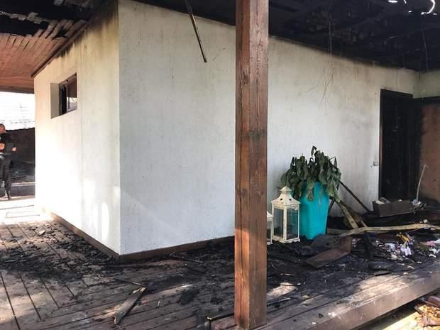 будинок Гонтарева пожежа