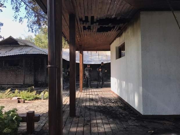 Гонтарева будинок пожежа