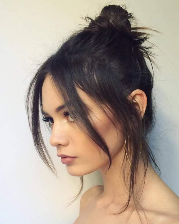 Пучок на волоссі підходить абсолютно усім