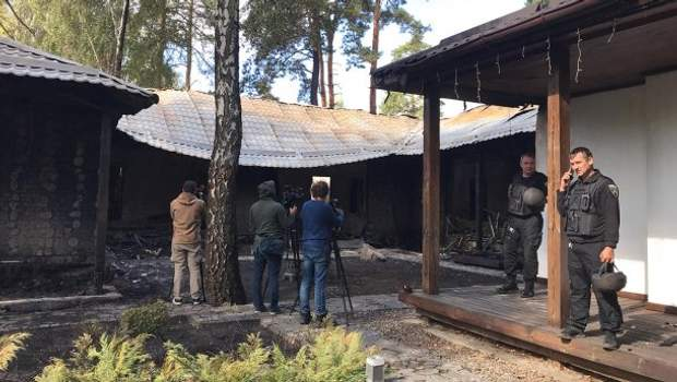Валерія Гонтарева, спалили будинок, ексголова НБУ